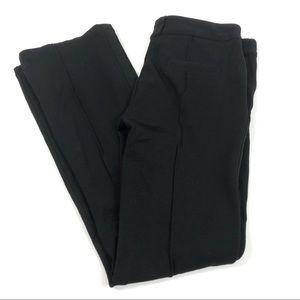 Romeo & Juliet Couture Ponte Seam Black Pants L